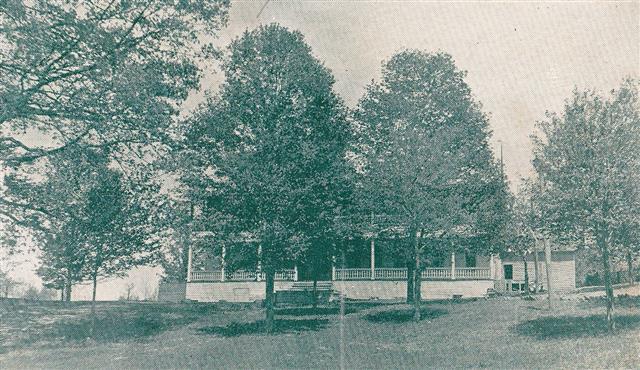 Cloyd Place, Main Building 1912- OPC