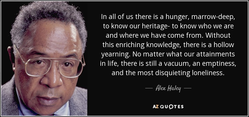 Alex Haley quote
