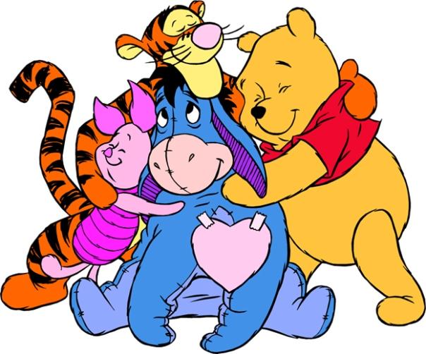 Pooh Gang Hug copy